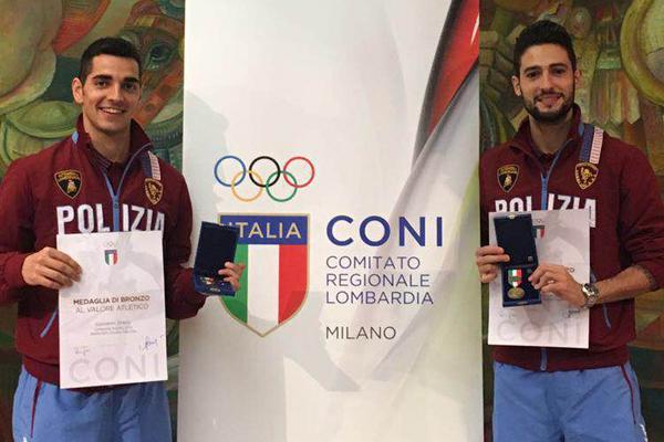 Greco-Maddaloni-Medaglia al Valore atletico 2016